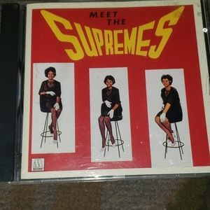 Other - RARE Meet The Supremes Classic CD